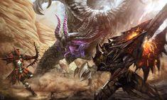Video Game Monster Hunter 4 Ultimate Wallpaper