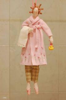 Tilda doll -- Tilda is a craft brand started by the Norwegian designer Tone Finnanger in 1999.