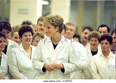 Princess Diana the Princess of Wales (North East visits) Princess Diana visiting…