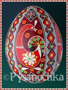 Real Ukrainian Pysanky Chicken Pysanka Hand Made HQ from Roman Easter Egg | eBay