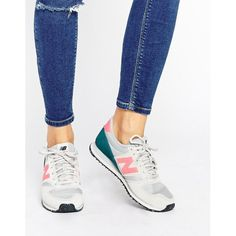 420 Grau 7 weiße Ledersneakers. Coole Klamotten  Reebok Turnschuhe  Adidas  Schuhe ... 140f1de74f