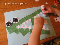 Art Craft For Preschool amp craft for kindergarten this activity relates to the nctm standard of applying 14 creative preschool activities for tip junkie Preschool Letters, Preschool Learning Activities, Preschool Curriculum, Alphabet Activities, Toddler Activities, Preschool Activities, Preschool Routine, Homeschooling, Stem Learning