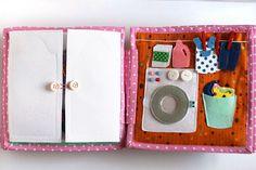 Evie's dollhouse quiet busy book Развивающая книжка Кукольный домик
