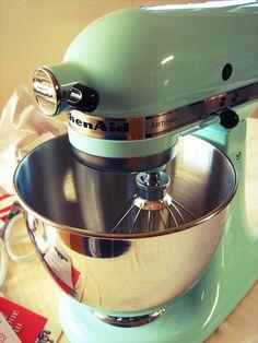 Kitchenaid Mixer in Turquoise