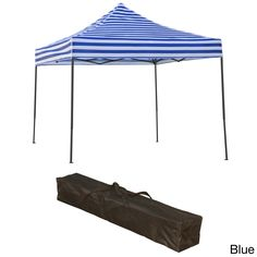 Trademark Innovations Lightweight and Portable 10x10 Canopy Tent Set  sc 1 st  Pinterest & Ozark Trail 10×10 Canopy u0026 Chairs Bundle $69 @ Walmart | 0 ...