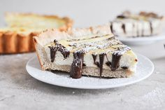 Tasty Kitchen Blog: Cannoli Tart. Guest post by Jessica Merchant of How Sweet It Is, recipe submitted by TK member The Seaside Baker.
