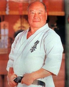 Sosai Mas Oyama. Kyokushin karate do. A hard core karate instructor from the days when a few bruises were acceptable.