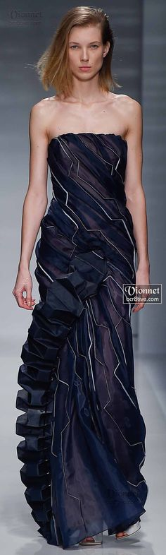 Gown Glory! Designer Fashion Dresses Vionnet Fall Winter 2014-15 Haute Couture