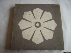 Floor tile from the original Grand Rapids City Hall