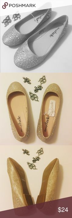 🆕Charming Charlie Bling Flats Fabulous flats to wear for evening or day and time you want to sparkle. These have a lot of bling. One small flaw that will not be noticeable at all with wear. Only you will know it is there. Look at the 4th picture. These are new with a tag but will not come with a box. Charming Charlie Shoes Flats & Loafers