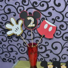 Deluxe Mickey Mosue Birthday Party Package.