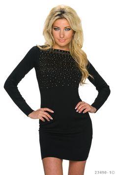 Charismatic Black Dress