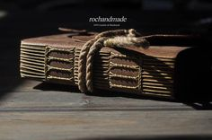Handmade leather journal,the real look notebook