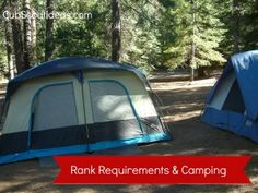 Nice! ->Completing Cub Scout Rank Requirements While Camping - Cub Scout Ideas Blog