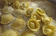 #housemade #tortellini & #Ravioli  #prosciutto2pastalicious House Made, Tortellini, Ravioli, Stuffed Mushrooms, Heaven, Pasta, Vegetables, Food, Sky