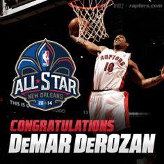 41083bfbcdbb HUGE congrats to DeMar DeRozan on his first career  NBAAllStar selection!  Special Olympics