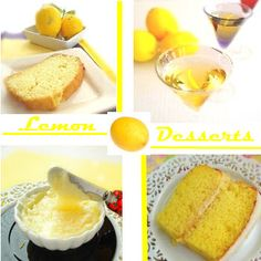 A collection of lemon dessert recipes.  There's lemon drinks, lemon cakes, lemon pudding, lemon frosting, lemon....