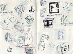 Insight into logo creation. Thumbnail Sketches, Examples Of Logos, Clever Logo, Logo Creation, Design Process, Logo Design, Design Inspiration, Branding, Concept