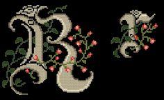 Monogramy - Coricamo sklep - haft krzyżykowy, koralikowy, wzory ...