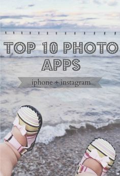 Top 10 iPhone Photo Apps  SORRY BUT NOT FOR THE IPAD.  HOWEVER, I had to pin because these photo apps r great!!!!