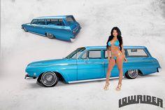 Jae Bueno 1962 Chevrolet Impala Station Wagon Model Amber Grace