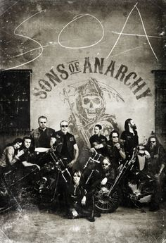 Sons of Anarchy - Poster Saison 4