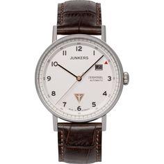 JUNKERS Herren Uhr Quarzuhr Inspiration Bauhaus 6046 5 Leder
