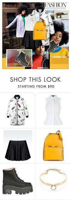 """""""..."""" by margarita-m-a ❤ liked on Polyvore featuring TOMS, Alexander Wang, Armani Jeans, Valentino, Jeffrey Campbell, Alexis Bittar and Sugar NY"""