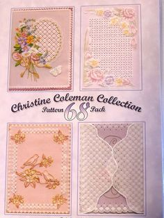 PATTERN PACK 68 - BY CHRISTINE COLEMAN