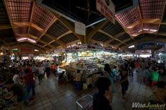 The bustling Ben Thanh Market, Saigon