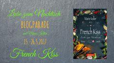 """""""French Kiss: Liebe zum Nachtisch"""" von Marie Keller ist eine romantische Liebesgeschichte, die in Frankreich spielt. Es handelt vom Neuanfang, der Liebe und der Suche nach Antworten in der Vergangenheit. Köstliche Speisen und französischer Flair durchziehen dieses Buch und verzauberten mich nach nur wenigen Seiten, trotz einiger Schwächen. ~ Paris ~ Familiengeheimnis ~ Neubeginn ~ Zeilenschmaus und Liebesgefunkel"""
