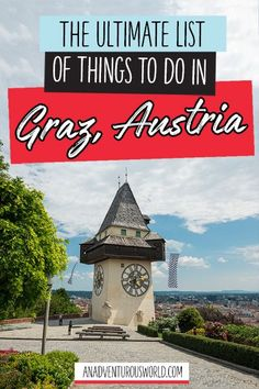 The Ultimate List of Things to do in Graz, Austria - Are you looking for a city guide to Graz? From wandering around the Kunsthaus Graz to climbing up the Schlossberg, these are the best things to do in Graz! >> Click through to read the full post! Innsbruck, Salzburg, Visit Austria, Austria Travel, Europe Travel Tips, European Travel, Travel Guide, Travel Hacks, Travel Destinations