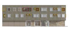 Remodelación fachada ( propuesta 2 ) Hotel el Faro, Buga
