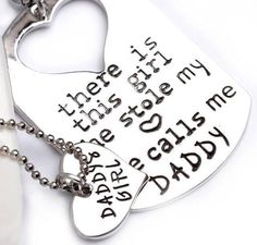 "Free Delivery in the US! Click ADD To CART to Order Yours Now! Our Earl Father Daughter Matching Keychain & Heart Necklace symbolizes the unconditional love that a father could give to her daughter. No matter how far they are from each other the love between them will always be the greatest love of all. This fashion jewelry set comes with sweet notes that read: ""Daddy's girl"" ""There is this girl she stole my heart she calls me DADDY"" Show your dad how much you love him any time of the year…"