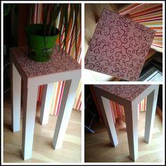 Una mesa de ikea