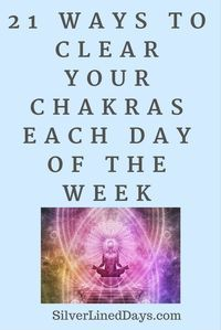 Feeling out of balance? Here are 21 simple ways to clear your chakras throughout the week. http://silverlineddays.com/3-easy-ways-balance-chakras/ reiki healing | reiki | how does reiki work | reiki benefits | chakras | holistic healing | lightworker | spirituality | manifestation | manifest | holistic health | alternative medicine | meditation | mindfulness | energy healing