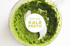 Kale Pesto (with Fresh Basil)