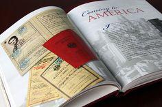 Imágenes de papel viejo - cartas, pasaportes, tarjetas de calificaciones, etc - pueden agregar interés visual a su historia personal.