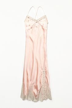The See-Through-Maxi Savior If you don't already own a silk slip, add it to your shopping list — stat. This piece will save you so much agony at those times you realize that dress you just purchased is, in fact, sheer.