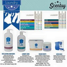 Our laundry products are amazing! www.more4urcents.Scentsy.us