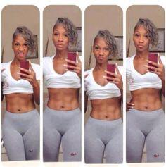 I want my body to be just like that when I'm her age. I do I do I do... ha ha ha