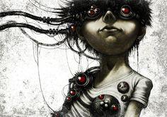 Цифровые иллюстрации Шинго Матцунумы (Shingo Matsunuma)