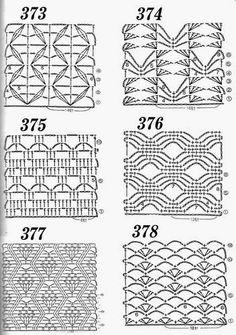 Häkelmuster Fundgrube: 600 Häkelanleitungen