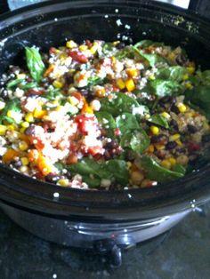 Recipes for chili - Vegetarian Quinoa Chili and White bean chili