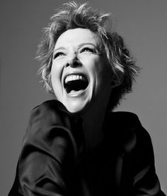 "Annette Bening, an amazing actress. Saw her in ""The Female of the Species"" a few years back -she can really hold a stage ~"