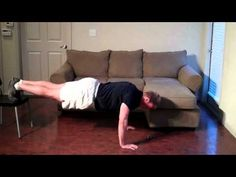 The Best Hockey In-Home Workout Routine - YouTube