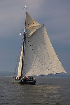 Clearwater Sloop, Hudson River, NY, founded by Pete Seeger, UU, as an educational teaching ship.