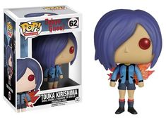 From the hit anime Tokyo Ghoul, Touka Kirishima, as a stylized POP vinyl from Funko! Figure stands 3 inches and comes in a window display box. Check out the other Tokyo Ghoul and anime figures from Funko! Collect them all! Death Note Near, Pop Vinyl Figures, Tokyo Ghoul Funko Pop, Anime Figures, Action Figures, Chibi, Funko Pop Anime, Pop Figurine, Funk Pop