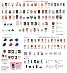 Scentsy Spring/Summer 2015 Catalog products will be available March 1st 2015 at www.aliciascheffer.scentsy.us