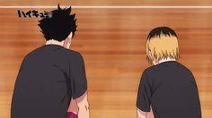 Kuro and Kenma #haikyuu